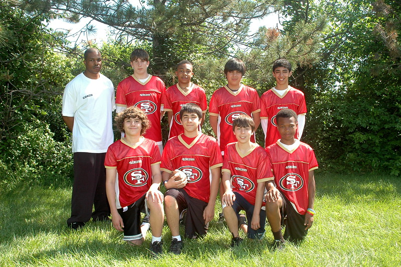 Pro 49ers<br /> Coach Ainsley