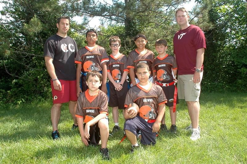 Junior Pro Browns<br /> Coach Broad