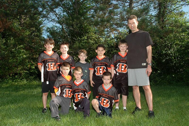 Little Pro Bengals<br /> Coach Buermeyer
