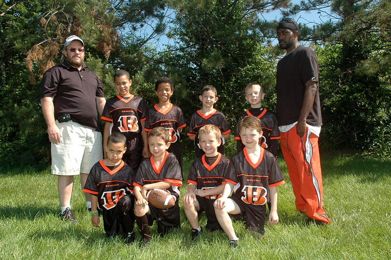 Little Pro Bengals<br /> Coach Seighman
