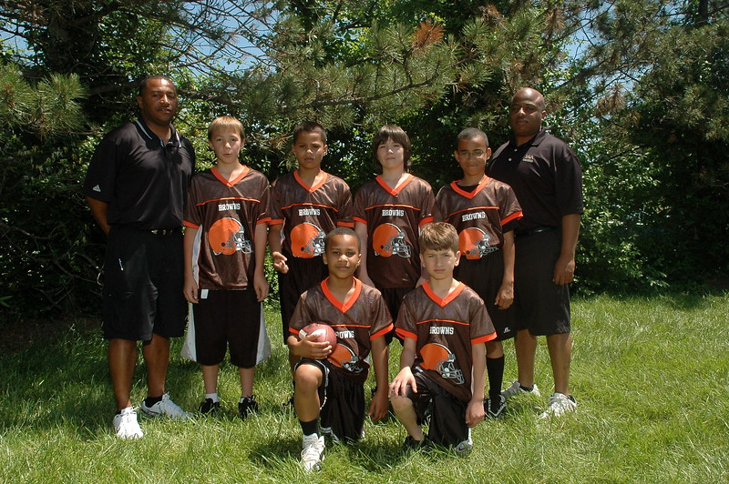 Junior Pro Browns<br /> Coach Brown