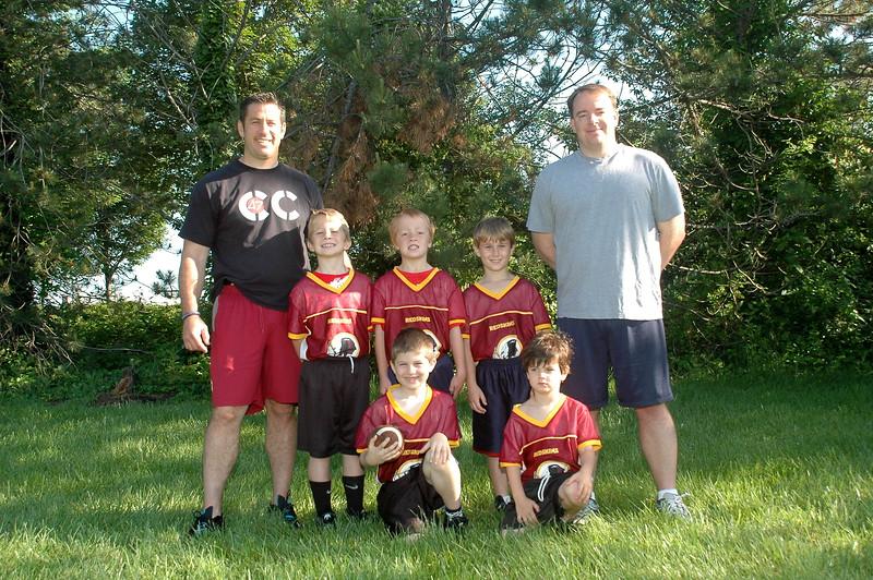 Little Pro Redskins<br /> Coach Broad