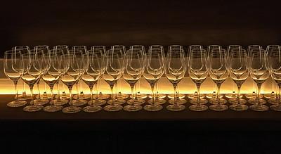 Wineglasses, Portland, 2017