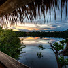 Sunrise over the Amazon Jungle
