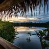Sunrise over the Amazon Jungle
