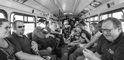 Arrival Bus Ride