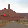 Castle Rock near Moab, UT.