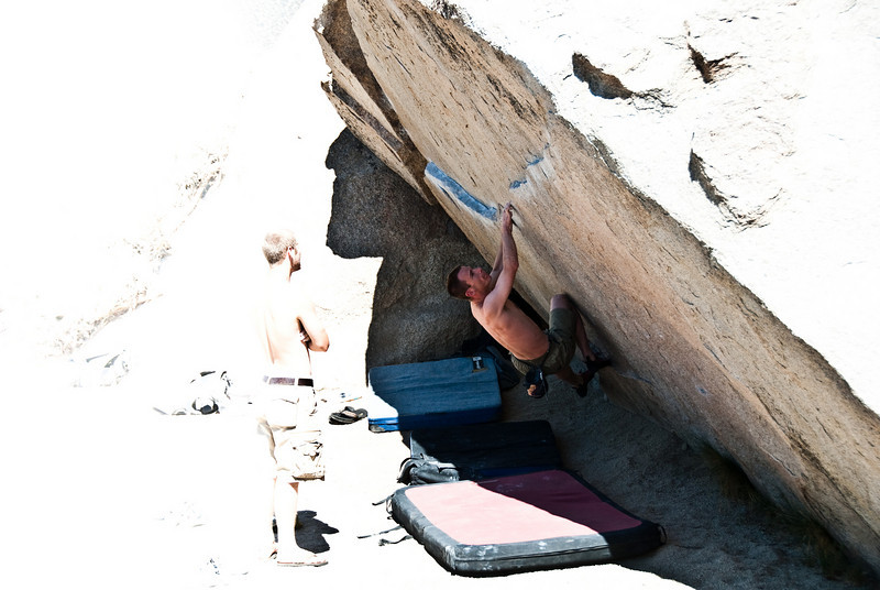 """Some foreign dude on """"Iron Man"""" (V4), in the Buttermilks."""