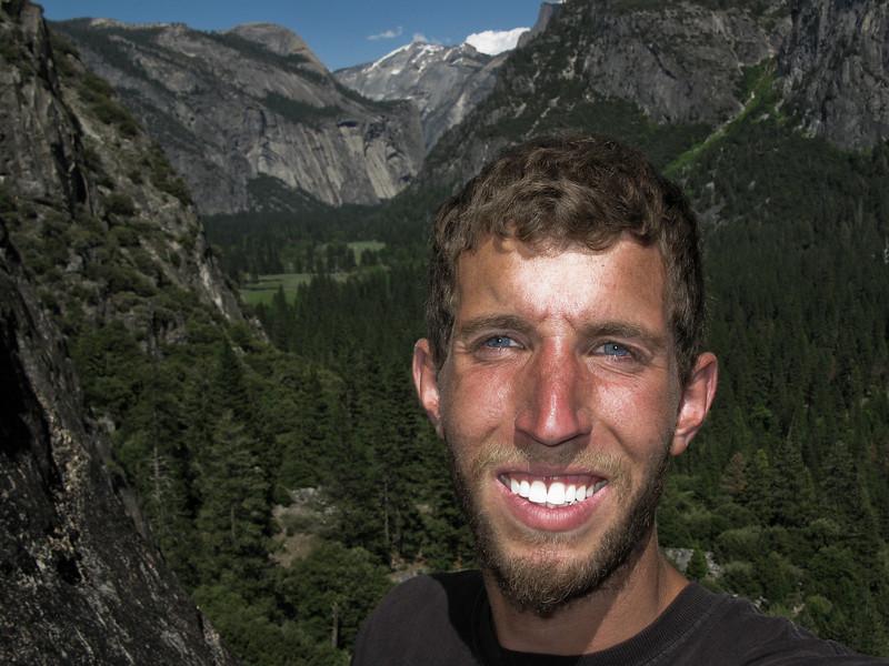 Me in Yosemite Valley on the Nutcracker.