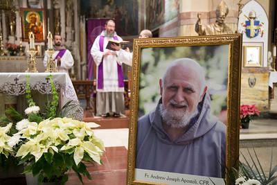 Fr Andrew Apostoli - wake and vigil