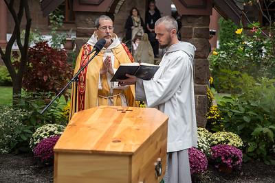 Fr Benedict Groeschel - Interment