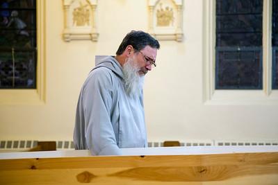 Fr. Benedict Groeschel - Wake at St. Adalbert Church