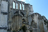 Mid-day at the St. Bertin Abbey ruins.