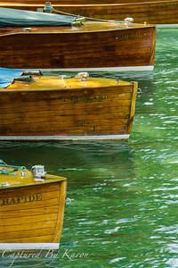 Trois Bateaux en Bois, Annecy