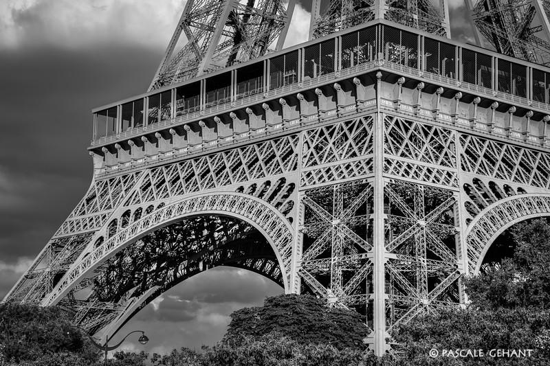 Eiffel Tower base