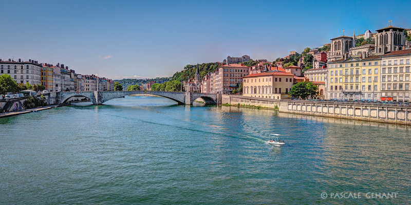 Crossing the Rhone