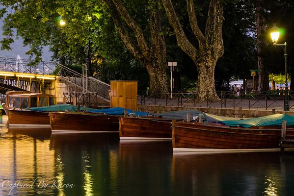 Bateaux en Bois, Annecy