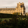 The Louvre Museum at sunrise
