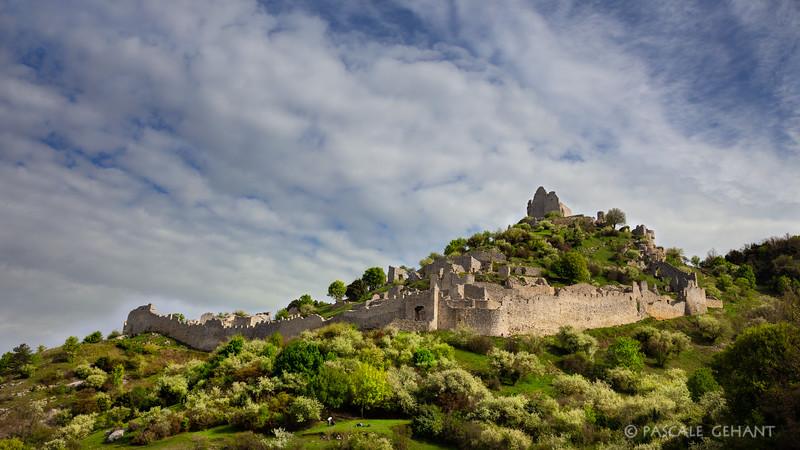 Chateau de Crussol- France