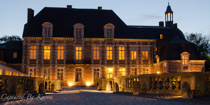 Château d'Etoges by Night
