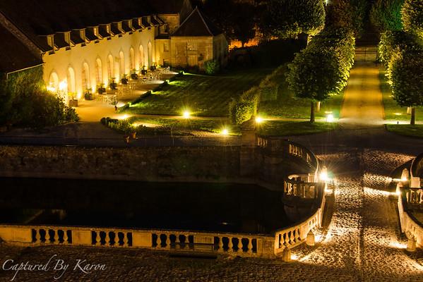 Night Views, Château d'Etoges