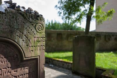 Old Jewish Cemetery in Frankfurt