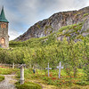 King Oscar II Chapel - 1869<br /> Kirkenes, Norway<br /> GPS 69,47.1373N,  30,48.67315E