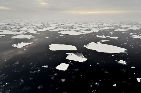 Witness of a fundamental change: Arctic sea ice is deminishing more than ever before.