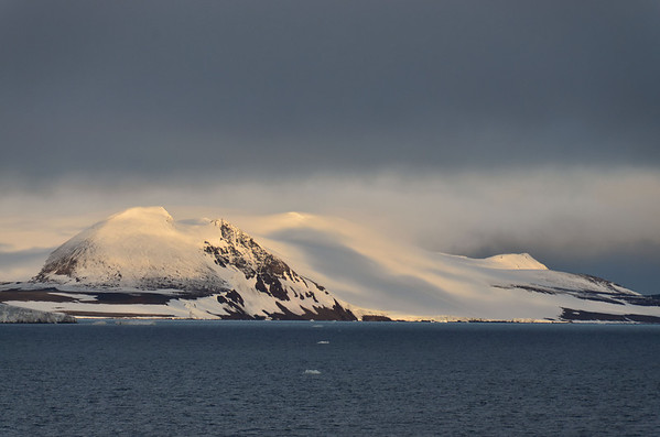 Ziegler Island, 5:37 early Arctic morning