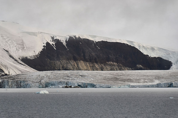 Outlet Glacier, Payer Island, most southerly point