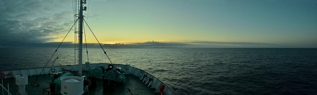 Barentssea, going north to FJL