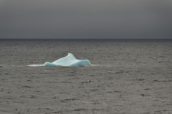 Last iceberg - going sout from Cape Tegetthoff
