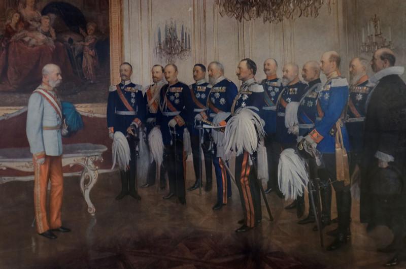 Kaiser Franz Josef I of Austria - Hungary, Rudolf's father