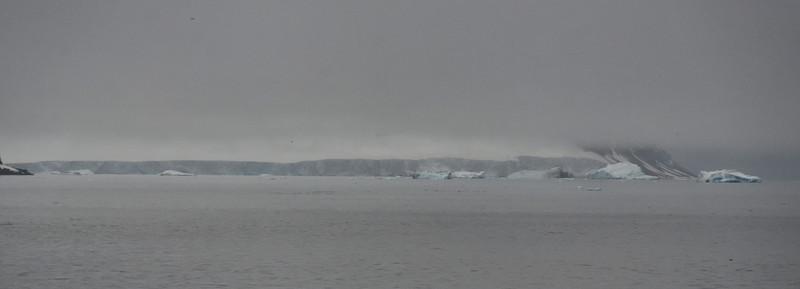 Glacier at Teplitz Bay of Rudolph Island