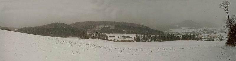 Mayerling on a winter day