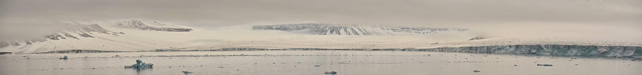 Outlet Glacier E of Cape Fiume, Champ Island