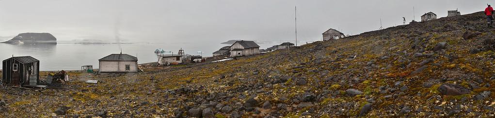 Sedov Station, Tichaya Bay, Hooker Island