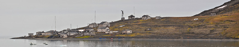 Russian Sedov Arctic Research Station, 1913-52, Hooker Island