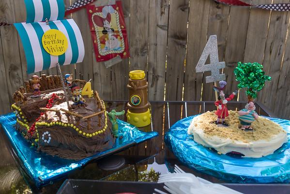 Here's the Birthday Cake!