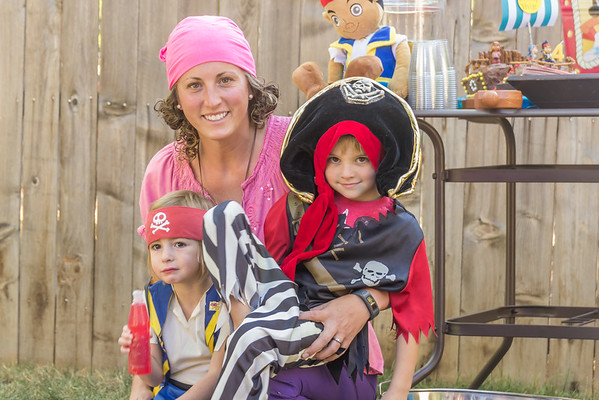 Vivian's 4th Birthday-She love's Jake and the Neverland Pirates