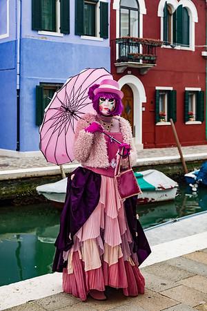 ITALY; Venice; Carnival; Burano