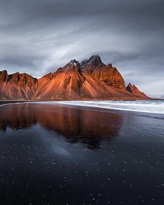 Vestrahorn sunset, Iceland