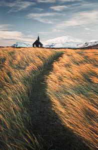 Budir black church, Snaefellsnes, Iceland