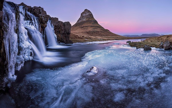 Kirkjufell dawn, Snaefellsnes, Iceland
