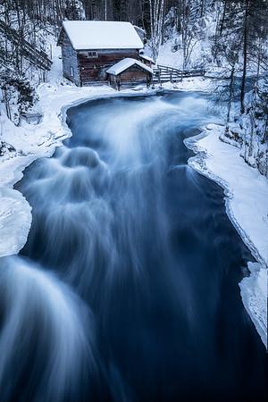 Arctic river, Finland