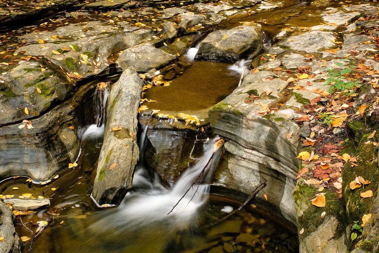 Waterfalls in Watkins Glen State Park