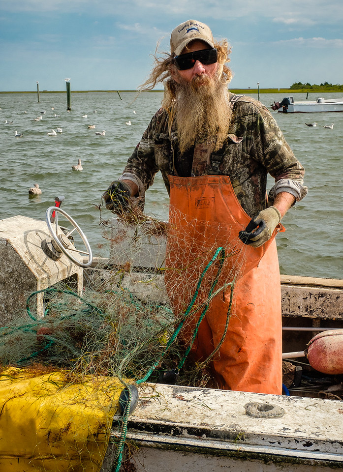 ©2017 Dennis A  Mook; All Rights Reserved; Poquoson fisherman-012662