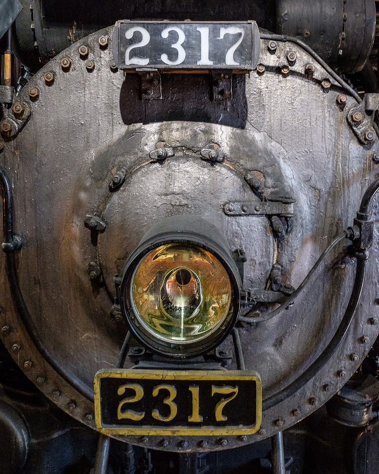 Canadian Pacific Steam Locomotive #2317 at Steamtown