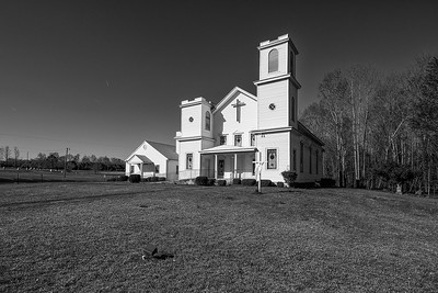 Gilfield Baptist Church, Ivor Virginia