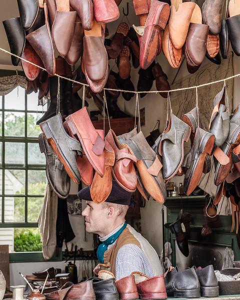 Colonial Re-Enactor Shoemaker
